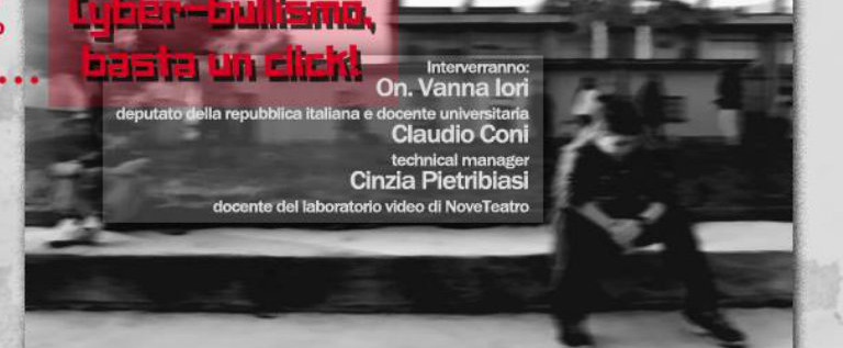 """Venerdì 18 dicembre in biblioteca a Novellara per """"Cyberbullismo, basta un click"""""""