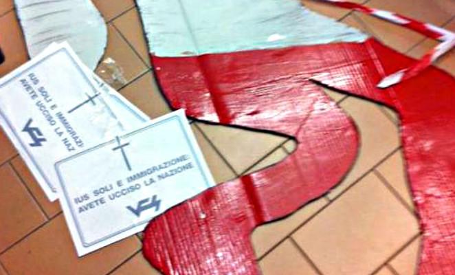 L'azione dei militanti di Veneto Fronte Skinheads è un attacco indegno alla legge per lo ius soli