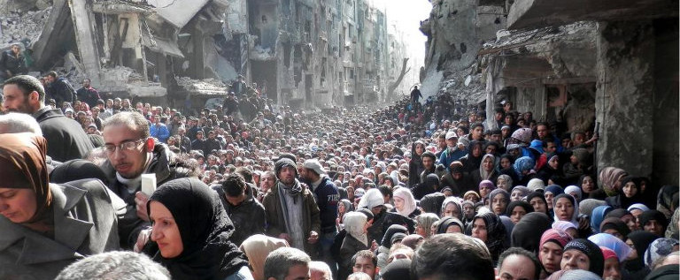 La mia mozione sull'emergenza nel campo profughi di Yarmouk, in Siria
