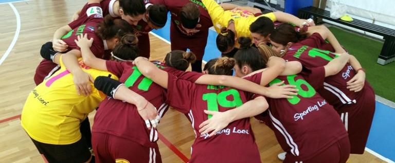 Il presidente della squadra di calcio a 5 femminile Sporting Locri resti in campo contro le intimidazioni