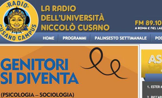 L'audio integrale del mio intervento a Radio Cusano Campus sulla legge 2656
