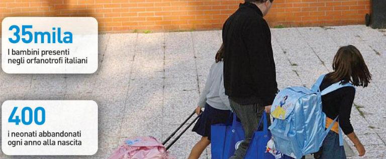 """Sul Resto del Carlino: """"Adozioni, è un'emergenza umanitaria"""""""