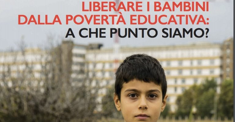 È sempre più urgente riorganizzare i servizi per contrastare la povertà educativa dei minori