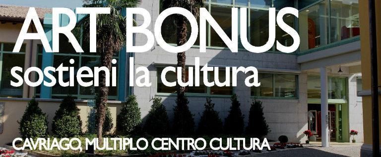 """Venerdì 17 giugno al Multiplo di Cavriago per il convegno """"Art Bonus: sostieni la cultura"""""""
