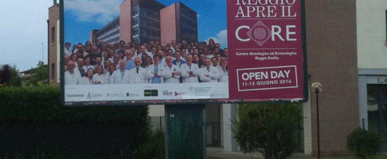 Sabato 11 giugno all'inaugurazione del Co-RE, il nuovo centro onco-ematologico di Reggio