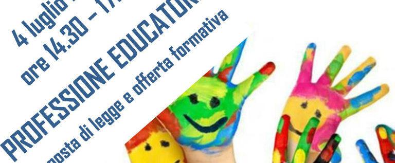 """Lunedì 4 luglio a Torino per il convegno di Unicusano """"Professione educatore"""""""