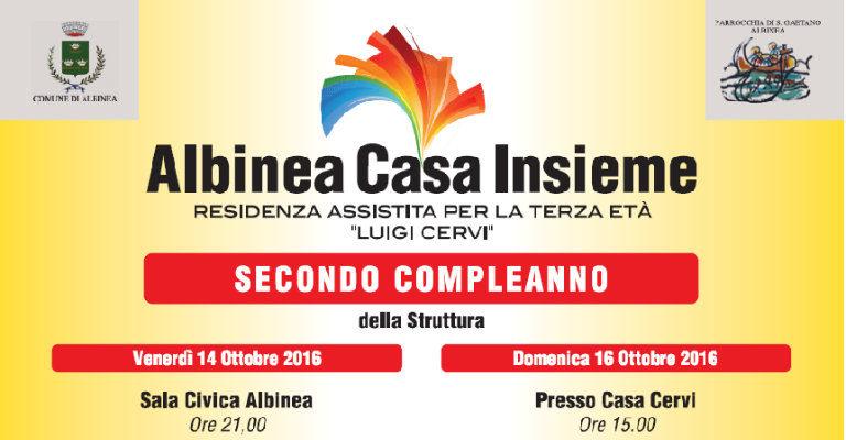 """Venerdì 14 ottobre alle 21 ad Albinea per l'incontro sul tema """"Vivere l'anzianità"""""""