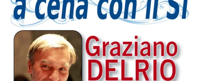 """Sabato 19 novembre a Villalunga """"A cena con il Sì"""" con il ministro Delrio"""