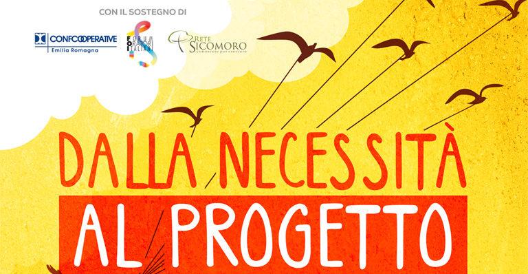 """Venerdì 18 novembre a Bologna per il convegno """"Dalla necessità al progetto"""""""
