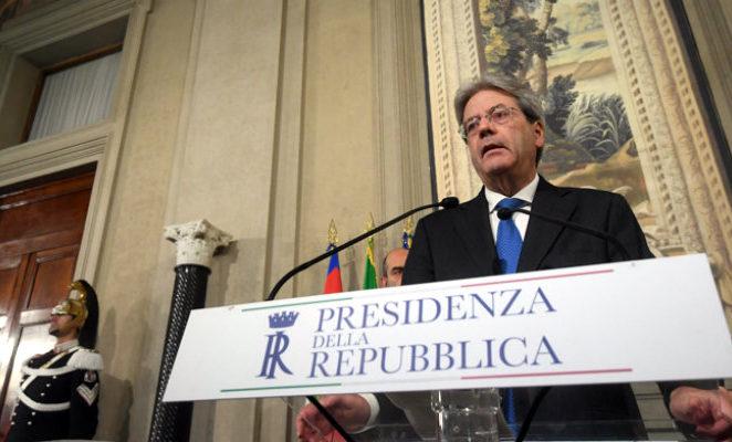 Auguri a Paolo Gentiloni, sarà una guida competente e responsabile
