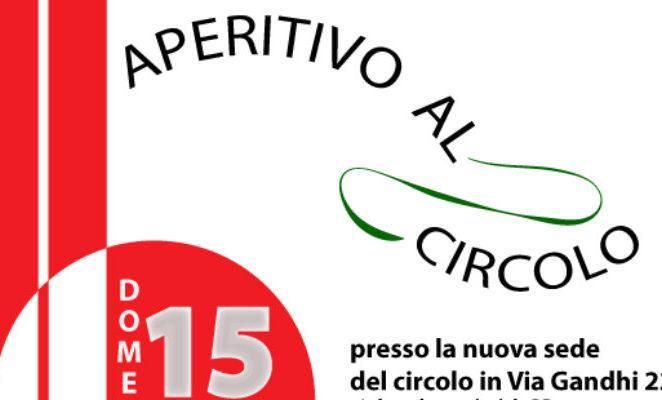 """Domenica 15 gennaio l'iniziativa """"Aperitivo al circolo"""" Pd Reggio 4"""