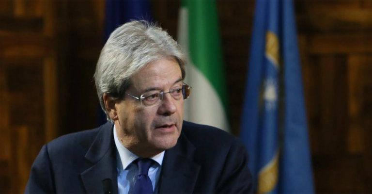 Auguri di pronta guarigione al presidente del consiglio Gentiloni dopo il malore