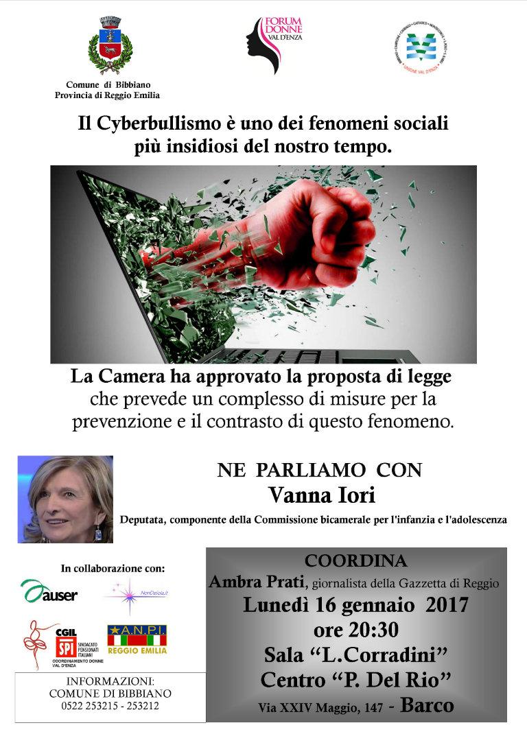 serata_cyberbullismo_bibbiano_locandina_bl