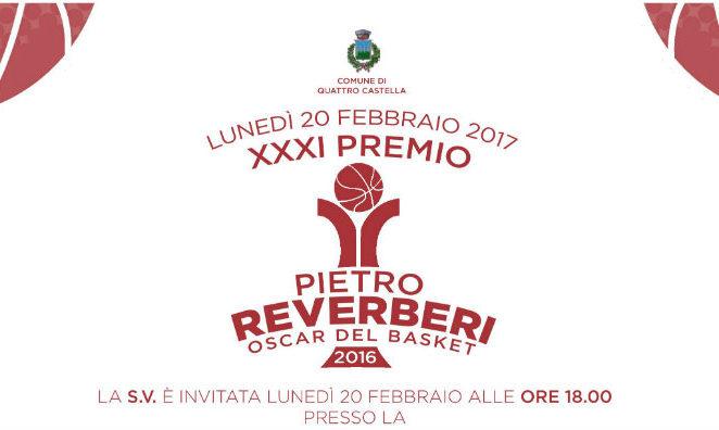 Lunedì 20 febbraio a Montecavolo per premiare i vincitori degli Oscar del Basket 2016