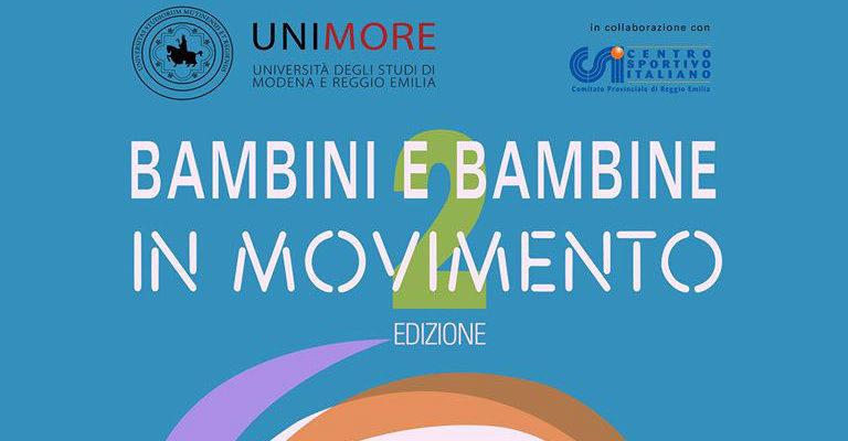"""Venerdì 17 marzo al Csi di Reggio per la lezione del corso """"Bambini e bambine in movimento"""""""
