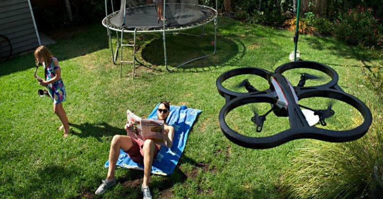 """Su HP: """"Dopo gli smartphone, saranno i droni ad entrare nella nostra vita?"""""""