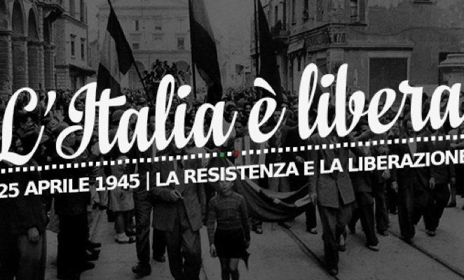 25 aprile: onore ai caduti, ora riaffermare i valori di libertà e democrazia