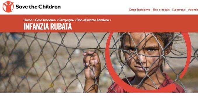 È inaccettabile che il diritto all'infanzia oggi sia negato a 700 milioni di bambini nel mondo