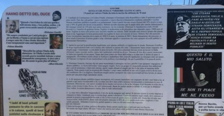Lido di Chioggia, la legge contro l'apologia del fascismo rafforza la tutela della democrazia