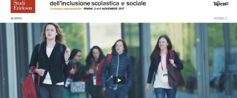 """Sabato 4 novembre a Rimini per il convegno """"La qualità dell'inclusione sociale"""""""