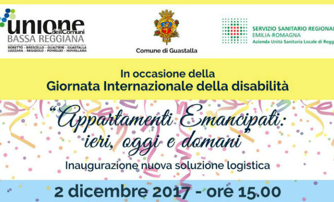 """Sabato 2 dicembre a Guastalla per """"Appartamenti Emancipati: ieri, oggi e domani"""""""