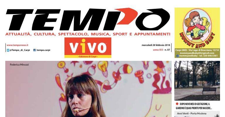 """La mia intervista al Tempo di Carpi """"La politica secondo le donne"""""""