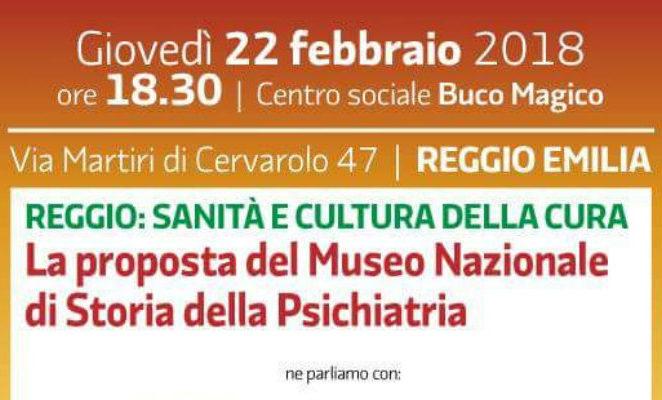 """Giovedì 22 febbraio al Buco Magico """"La proposta del Museo nazionale di storia della psichiatria"""""""
