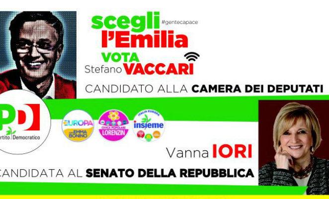 Sabato 24 febbraio alle 12.30 a Camposanto per il pranzo elettorale organizzato dal circolo Pd