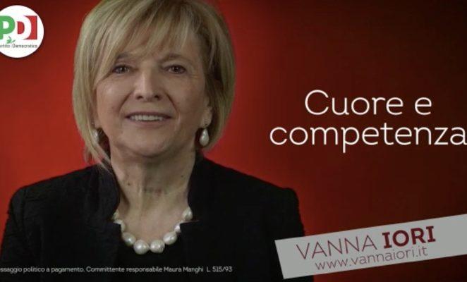 """Spot elezioni politiche 2018 – """"Vanna Iori, cuore e competenza"""""""