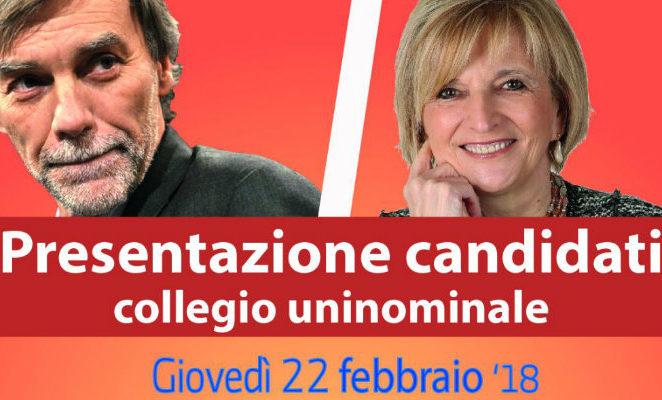 Giovedì 22 febbraio al teatro Piccolo Orologio di Reggio per la presentazione dei candidati del Pd