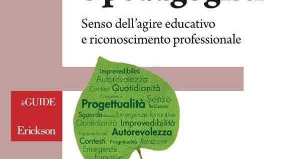 Dalla prossima settimana in libreria un testo dedicato a tutti gli educatori e i pedagogisti