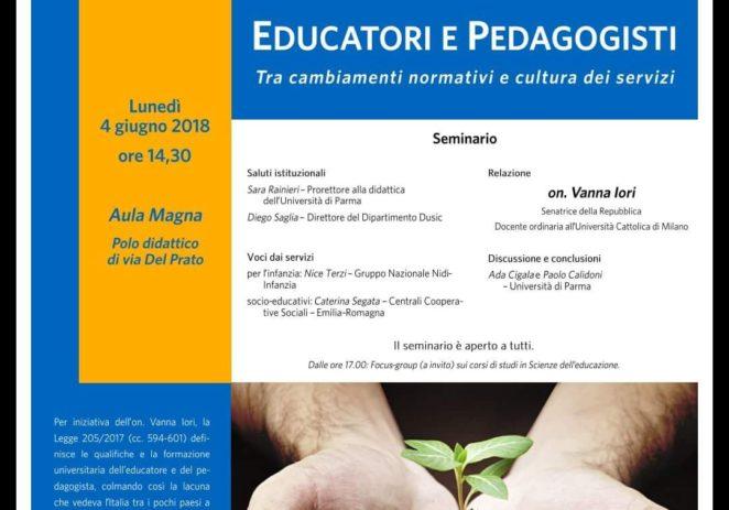 4 giungo – Educatori e pedagogisti: tra cambiamenti normativi e cultura dei servizi