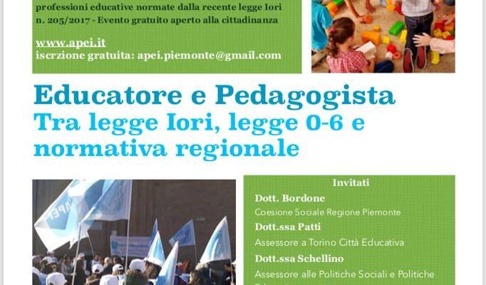 30 giugno – Convegno regionale APEI Piemonte