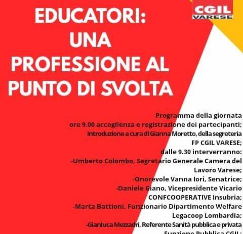 29 settembre – Educatori: una professione al punto di svolta