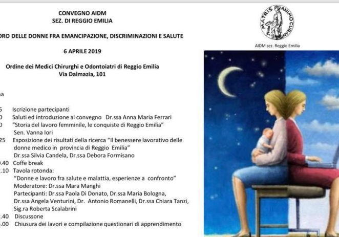 6 Aprile – Il mestiere delle donne tra discriminazione e salute