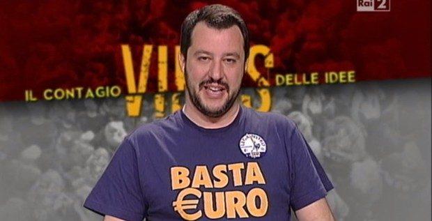 Salvini accelera la deriva. Vuole l'Italia fuori dall'euro?