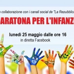 """25 maggio – Maratona per l'Infanzia: """"difendiamo i diritti delle bambine e dei bambini"""""""